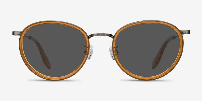 Brown Sun Tea -  Vintage Acetate Sunglasses