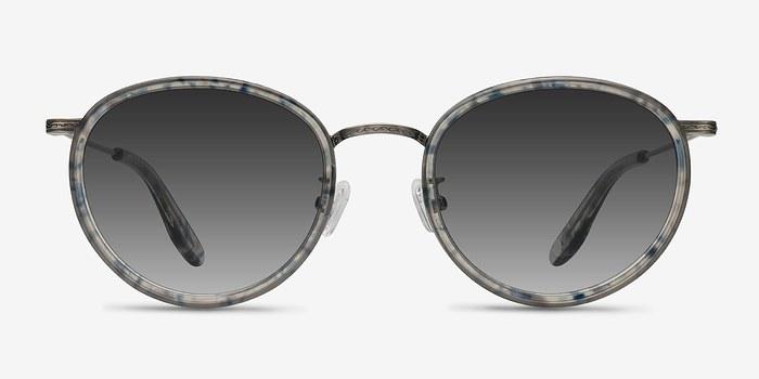 Blue Clear  Sun Tea -  Acetate Sunglasses
