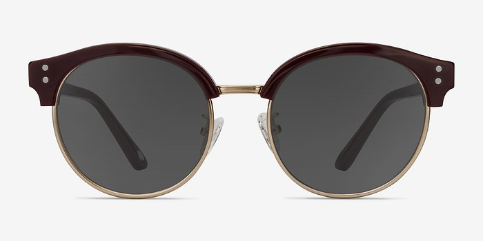 Red Limoncello -  Vintage Acetate Sunglasses