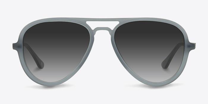 Matte Gray Riot -  Acetate Sunglasses