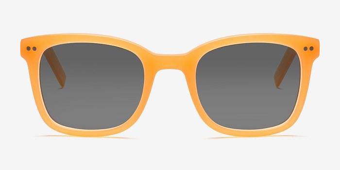 Matte Orange Peach -  Acetate Sunglasses
