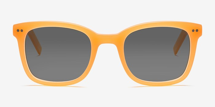 Matte Orange Peach -  Acetate Sunglasses