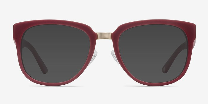 Dark Red Haute Couture -  Acetate Sunglasses