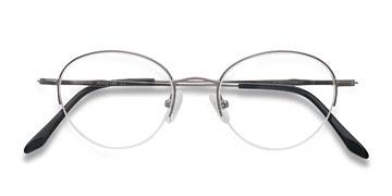 Gunmetal Opposition -  Metal Eyeglasses