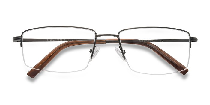 Gunmetal System -  Metal Eyeglasses