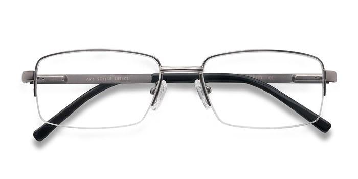 Gunmetal Axis -  Metal Eyeglasses