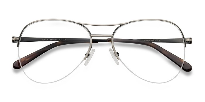 Gunmetal Dash -  Metal Eyeglasses