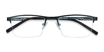 Black Algorithm -  Metal Eyeglasses