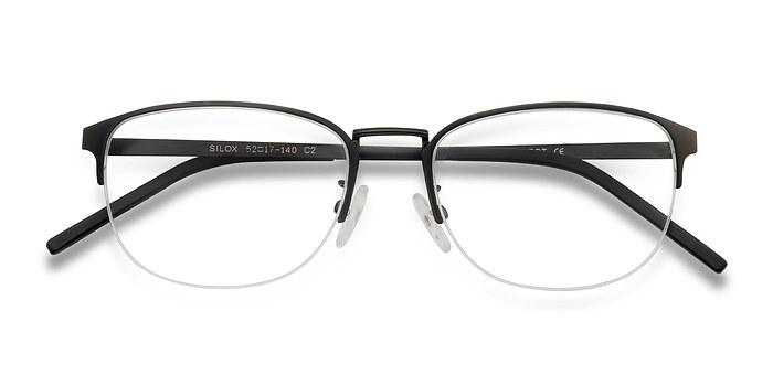 Black  Silox -  Metal Eyeglasses