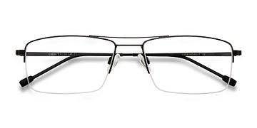 Black Creel -  Metal Eyeglasses