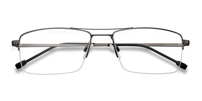 Gunmetal Creel -  Metal Eyeglasses