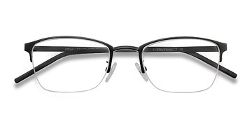Black  Argil -  Metal Eyeglasses