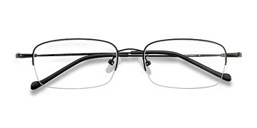 Black  Strasse -  Metal Eyeglasses