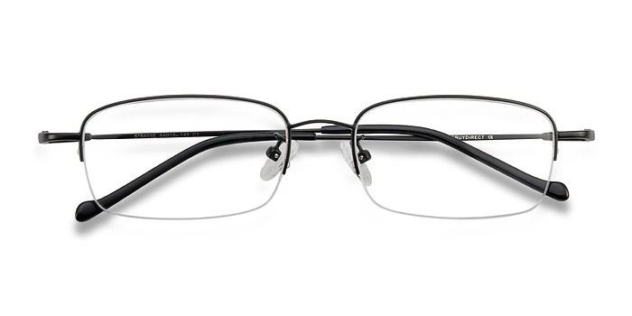 Black  Strasse -  Metal Eyeglasses