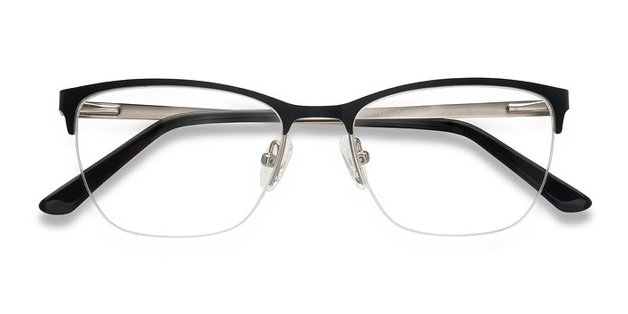 Black Lille -  Metal Eyeglasses