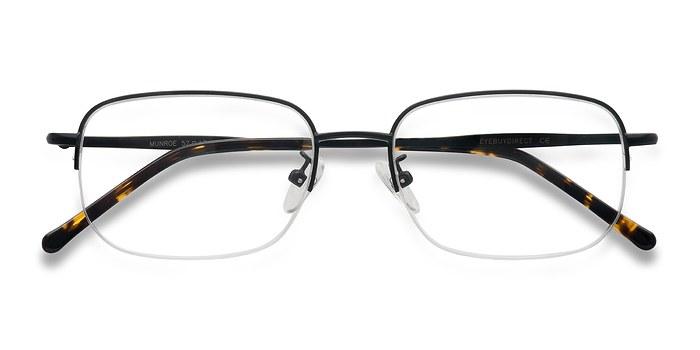 Black Munroe -  Metal Eyeglasses