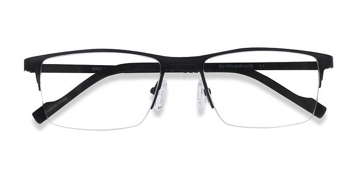 Black Variable -  Metal Eyeglasses