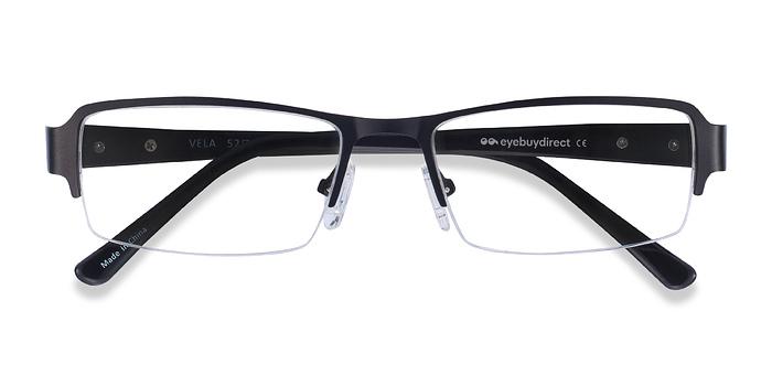 Black Vela -  Metal Eyeglasses