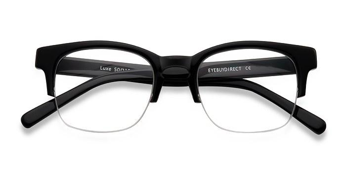 Black Luxe -  Acetate Eyeglasses