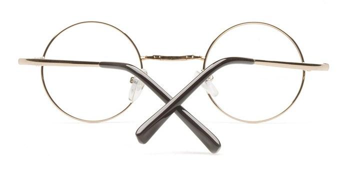 Golden Abaza -  Fashion Metal Eyeglasses