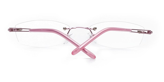 Pink Matera -  Lightweight Metal Eyeglasses