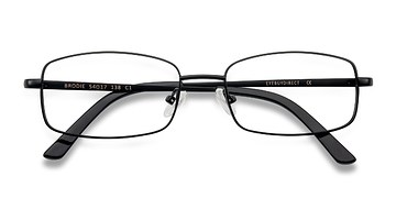 Black Brodie -  Classic Metal Eyeglasses