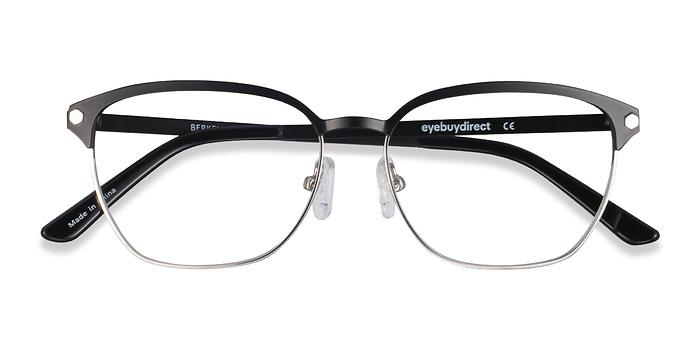 Black Berkeley -  Fashion Metal Eyeglasses