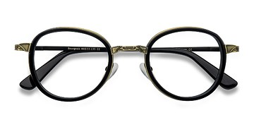 Black  Bourgeois -  Fashion Metal Eyeglasses