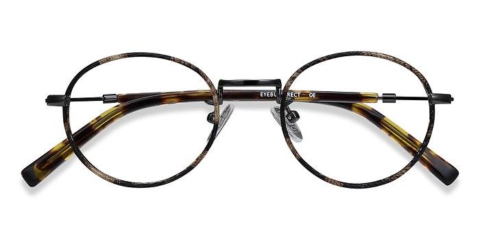Brown/Tortoise Voltaire -  Classic Metal Eyeglasses