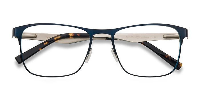 Bethnal Green Navy Metal Eyeglasses EyeBuyDirect