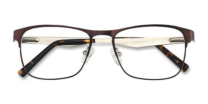 Brown Bethnal Green -  Metal Eyeglasses