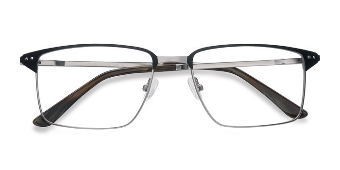 Black Gunmetal Absolute -  Metal Eyeglasses