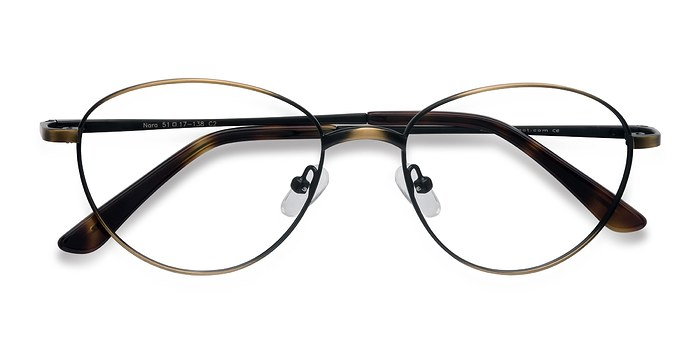Bronze Nara -  Metal Eyeglasses