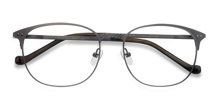 Gunmetal Phenomena -  Metal Eyeglasses