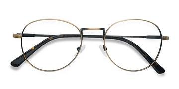 Bronze Shanghai -  Metal Eyeglasses