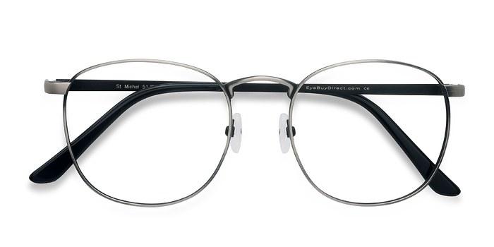Gunmetal St Michel -  Geek Metal Eyeglasses