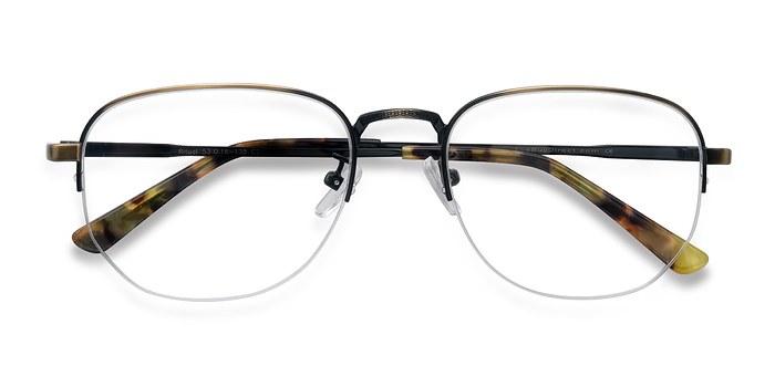 Bronze Ritual -  Metal Eyeglasses
