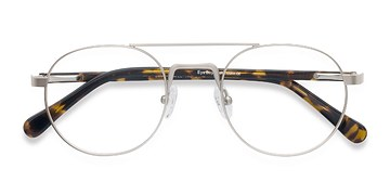 Light Golden Lock -  Metal Eyeglasses