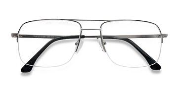 Silver Tux -  Metal Eyeglasses