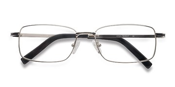 Silver Triality -  Metal Eyeglasses