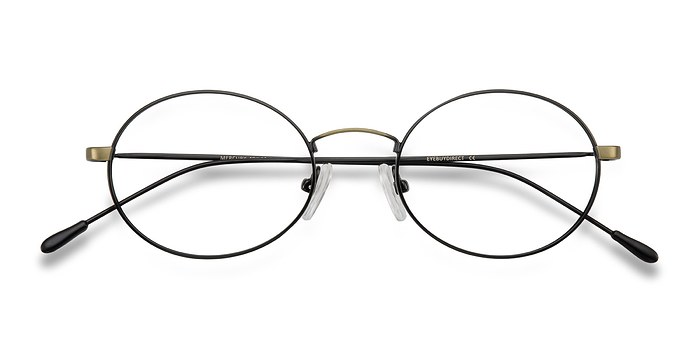 Black Bronze Mercury -  Metal Eyeglasses