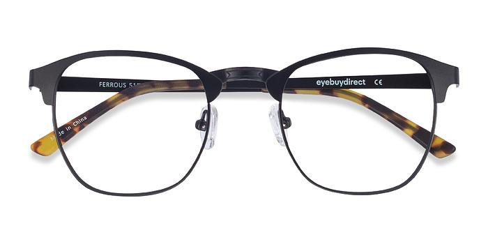Black Ferrous -  Metal Eyeglasses