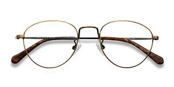 Bronze Taipei -  Metal Eyeglasses