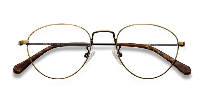 Bronze Taipei -  Metal Eyeglasses