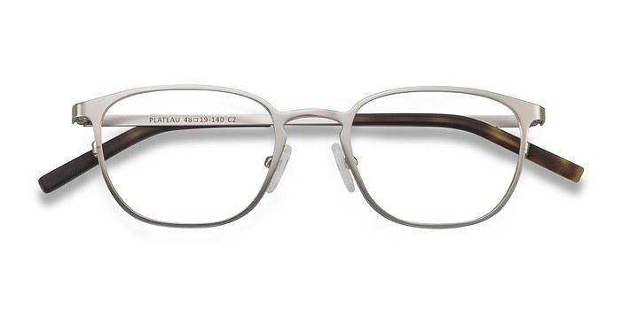 Silver Plateau -  Metal Eyeglasses