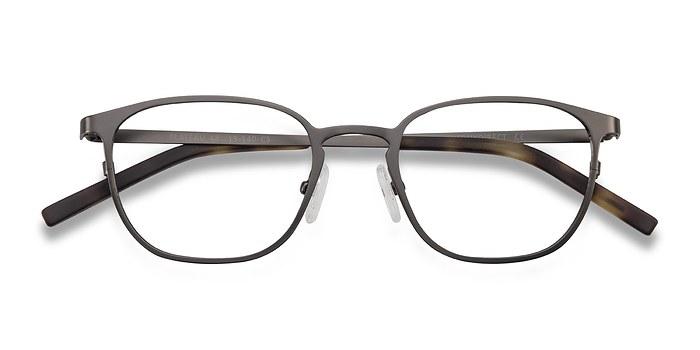 Gunmetal Plateau -  Metal Eyeglasses
