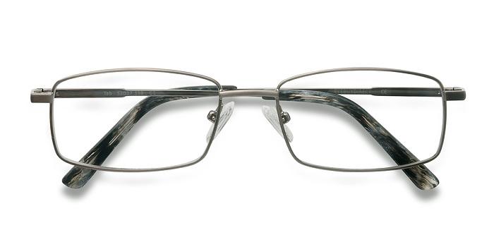 Gunmetal Tab -  Metal Eyeglasses