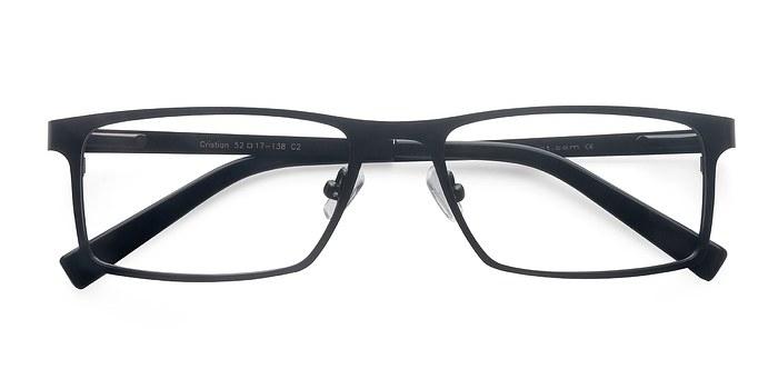 Black Cristian -  Classic Metal Eyeglasses