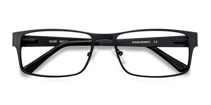Black  Elliot -  Classic Metal Eyeglasses