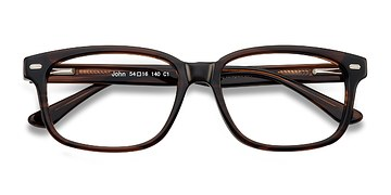 Brown John -  Classic Acetate Eyeglasses